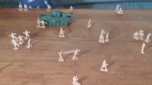 The allied assault takes shape