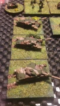 PT-77 Tank Company. (Polish built Vickers Mk.3)
