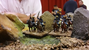 Cavalry take the rocks