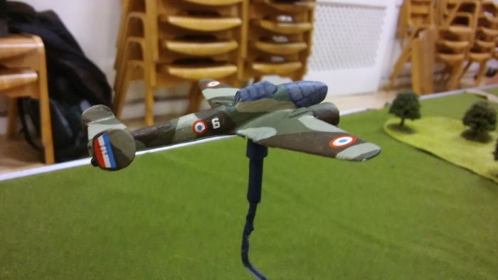Air Support - lovely model of a Potez.