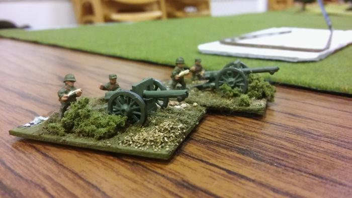 Artillery support