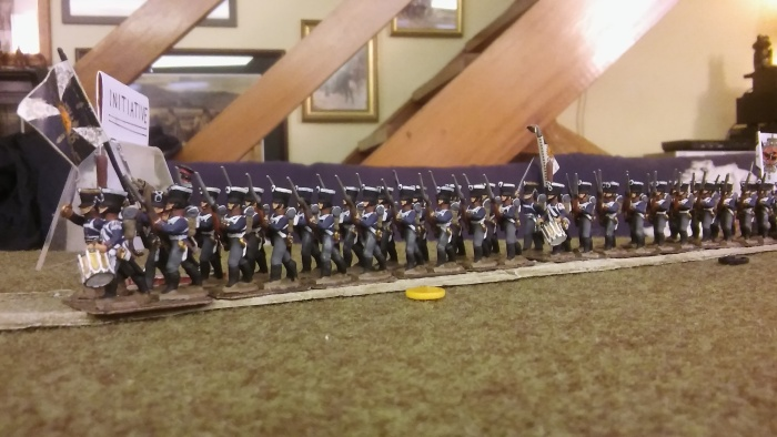 Prussian reinforcements start to arrive