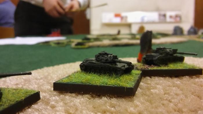 Austrian Panzers suffer too.