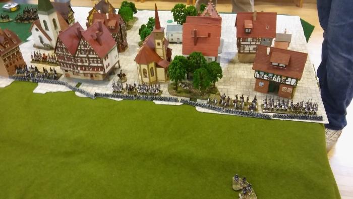 Dresden suburbs with Westfalian garrison.