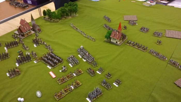 Dave and Alan's Divisions on my left roll vorwarts.