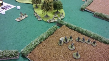 Des decides whether to charge the field.