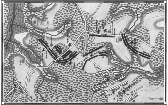 Frayser's Farm map
