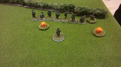 Noack and 3.Gruppe make it to the hedge