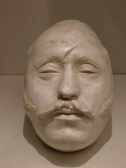 von Schill's death mask