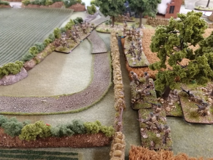 Cannuck infantry move out