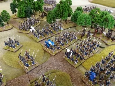 More Prussians emerge from the woods