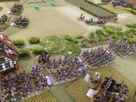 Del's lads head towards battle