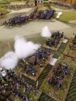 Prussian artillery helps out the Cavalry