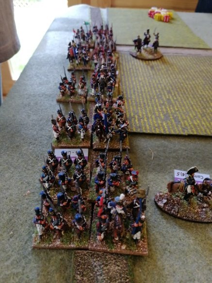French marching on Thyle